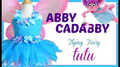 abby cadabby tutu dress diy youtube
