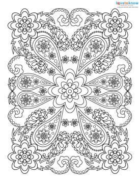 adult coloring pages  stress relief health wellness