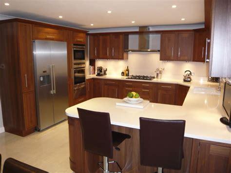 U Shaped Kitchen Design Layout  Home Design Ideas