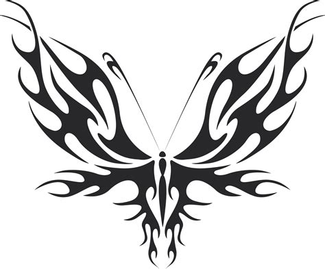 tribal butterfly vector art  dxf file   axisco