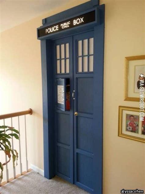 Tardis Bedroom by Tardis Bedroom Door