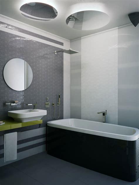 Small Modern Bathrooms With Bath by Awesome Modern Small Grey Bathroom White Tub Arts Design