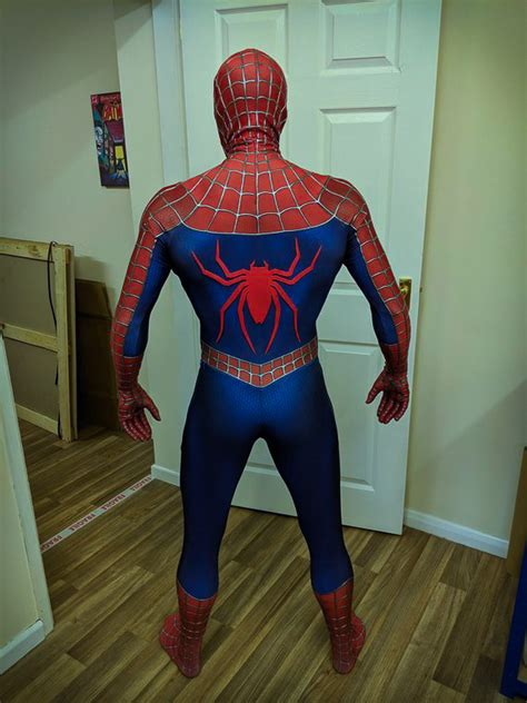 replica spider man  suit premium grade  limit
