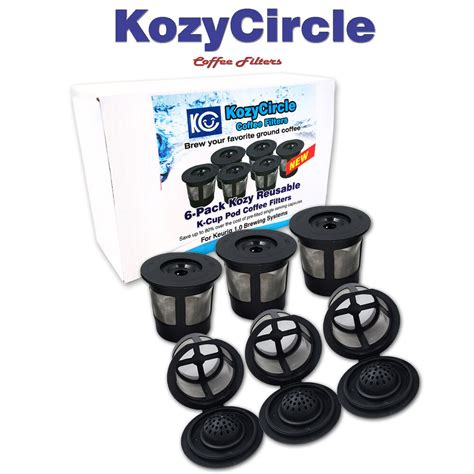 A wide variety of keurig coffee pods options are available to you, such as use, feature, and material. 6 Reusable Refillable Single Coffee K-cup Pod Mesh Filter ...