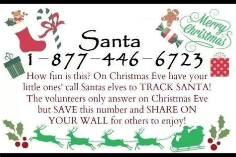 what is mrs claus phone number santa phone number holidays