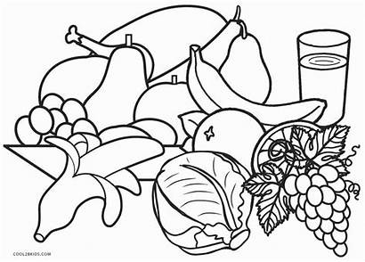 Coloring Pages Healthy Printable