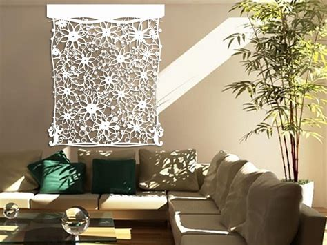 Decor Laser - laser cut tyvek 174 wall decor floral design backgrounds