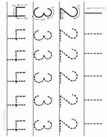 Printable Number Worksheets Number Tracing Worksheet 1 To 4 Ziggity Zoom