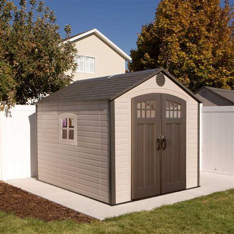 lifelong sheds 60117 71 square ft 491 cubic ft the lifetime 8 x