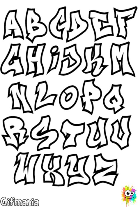 alfabeto grafite grafitti alfabeto grafite grafite