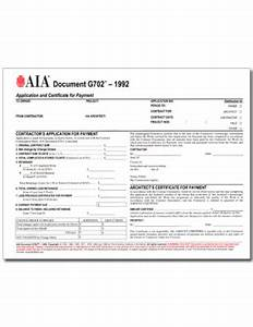 aia form g702 pack of 50 With application and certificate for payment aia document g702