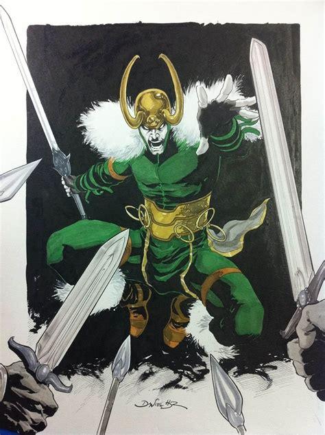 Loki Commission Comic Art 26 Loki Pinterest