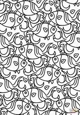 Coloring Pattern Printable Adults Fish Aztec Adult Definition Detailed Getcolorings Colorings Puzzle Getdrawings 1042 1500 Mask Awesome sketch template