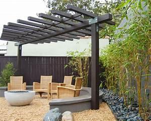 61 ideen fur bambus im garten als sichtschutz oder deko With feuerstelle garten mit bambus für den balkon