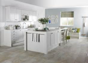 white kitchen island breakfast bar shaker kitchen kitchen sourcebook