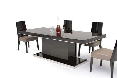 kitchen tables contemporary b131t modern noble lacquer dining table 3228