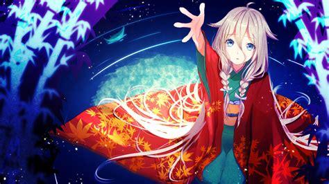 Anime Kimono Wallpaper - vocaloid ia kimono hd wallpaper