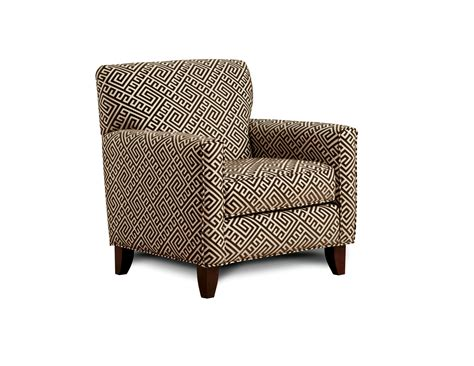 Furniture Of America Spaille Maze Patterned Arm Chair
