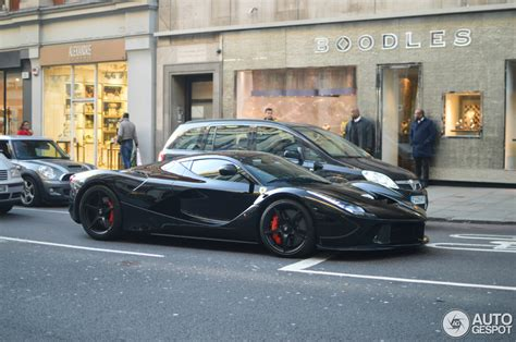 Laferrari In Black, Yellow And Red