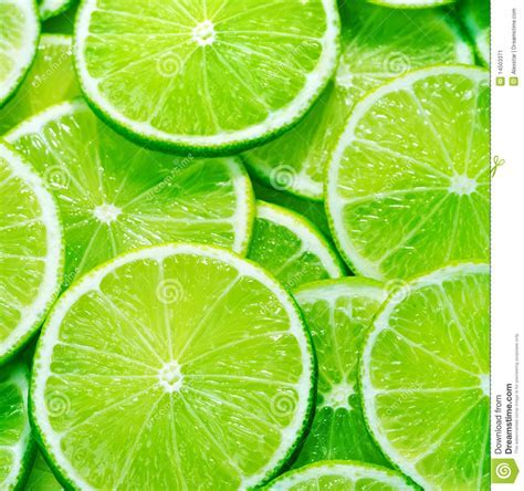 Sliced limes stock image. Image of fruit, limes, fruits