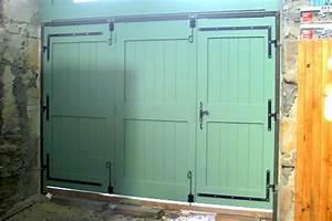 Menuiserie gradwohl et pascal porte de garage bois for Porte garage bois sur mesure