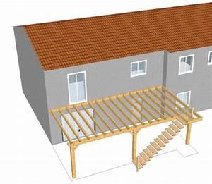 plan d une terrasse en bois sur pilotis 1 terrasse bois With plan terrasse sur pilotis
