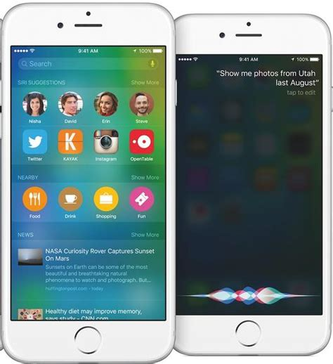 next siri versus now on tap the battle to read