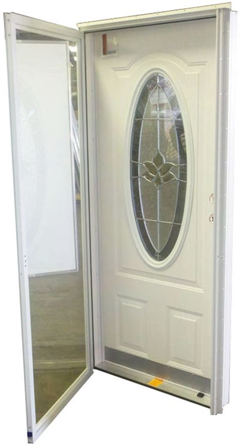 oval glass door lh  mobile home manufactured