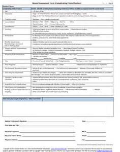 Wound Care Nursing Assessment Documentation Form