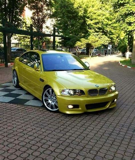 Bmw 2017 Bmw E46 M3 Yellow Cars Carsboard