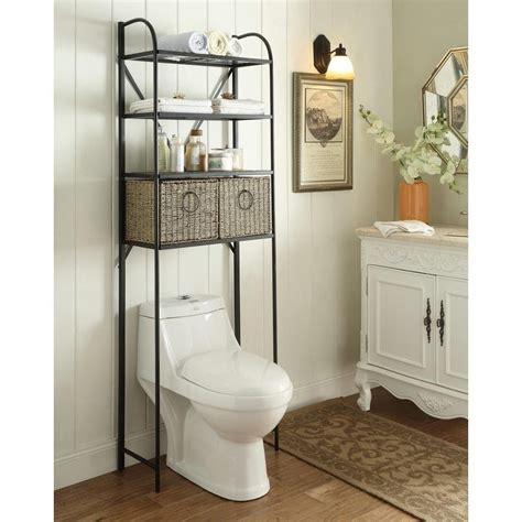 Above Toilet Cabinet For The Bathroom — The Decoras