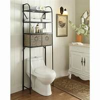 over toilet shelf Above Toilet Cabinet For The Bathroom — The Decoras Jchansdesigns