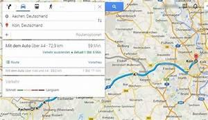Fahrtzeit Berechnen : kilometer entfernung berechnen so nutzen sie google maps ~ Themetempest.com Abrechnung