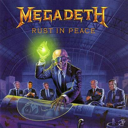 Megadeth Album Rust Peace Albums Covers 1990