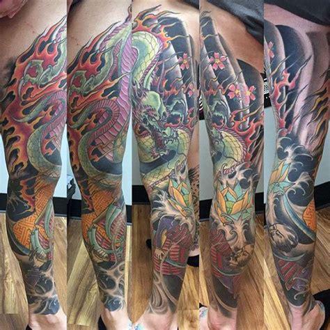 dragon leg tattoo designs  men masculine ink ideas