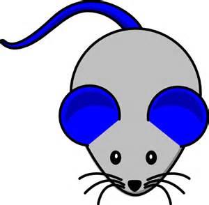 Blue Mouse Clip Art