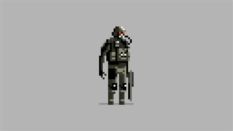Gears Of War Bioshock Halo Done In 16 Bit Pixelated