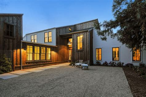 cordilleras house modern farmhouse  sonoma california