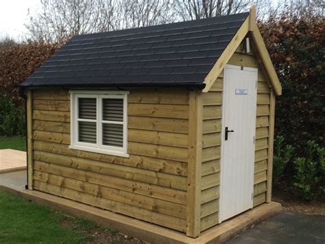 luxury garden sheds luxury ply lined traditional garden sheds the cosy shed co
