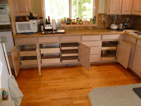 Cabinet Pull Out Shelves Kitchen Pantry Storage Cabinets
