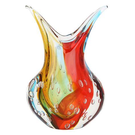 venetian glass vase murano sommerso vase venetian unique glass