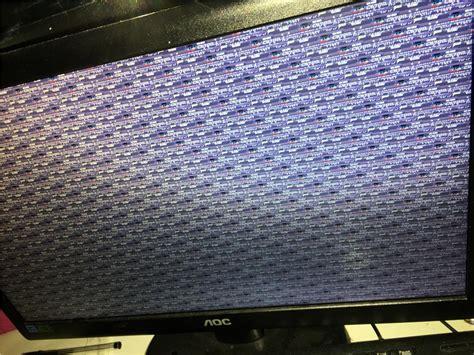 screen glitch  windows update microsoft community
