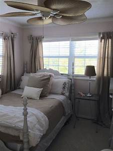 Pink, And, Khaki, Bedroom, In, My, Home, In, The, Fl, Keys