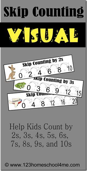 skip counting printables  homeschool deals