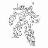 Coloring Pages Transformers Robots Robot Boys Draw Shockwave Raskraska sketch template