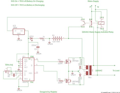 wrg    inverter circuit diagram