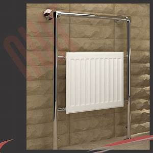 high btus traditional designer chrome heated towel rails With cheap bathroom radiators towel rails