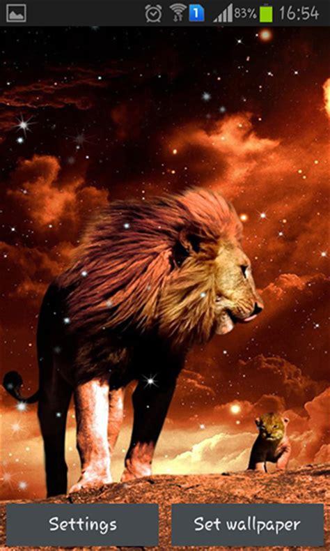 lion pour android  telecharger gratuitement fond decran