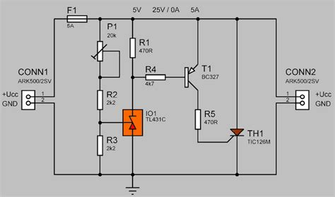 Surge Protection Circuit Thyristor Tic Electronics