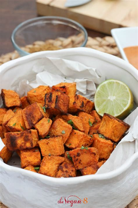 Mexican Sweet Potatoes with Tahini Sauce - Sprout Living
